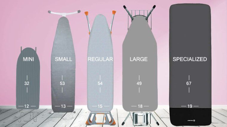 Ironing Board Size Guide