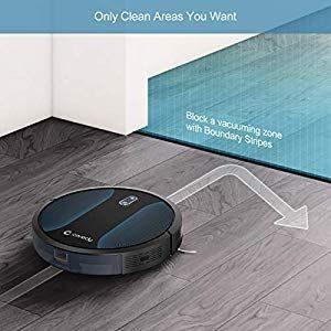 Robot cleaner boundary blocker