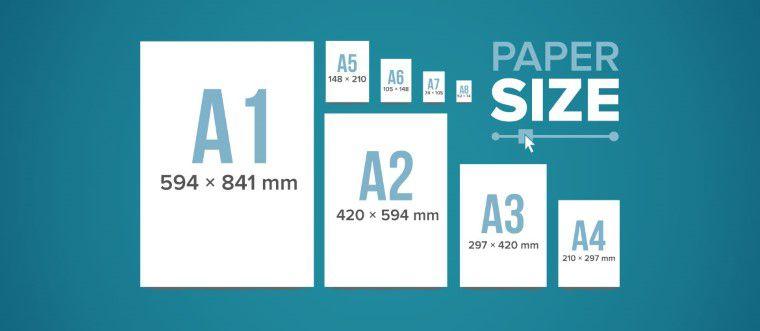 Paper Sizes for laser printer