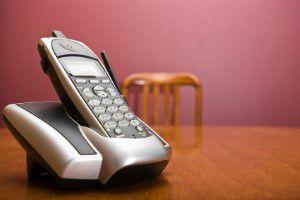 cordless telephone battery life
