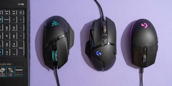 Gaming Mouse Shapes